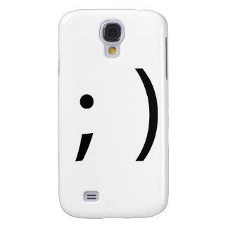 wink face! samsung galaxy s4 case
