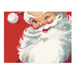 Wink From Santa Post Cards