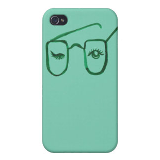 Wink Geek Glasses iPhone Case