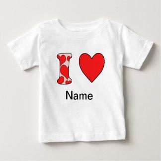 Wink i love costomized shirt