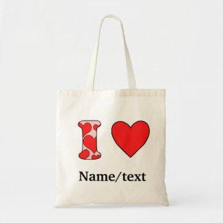 Wink I love Tote Bag