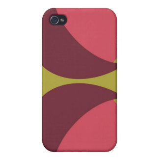 Wink - Olive and Coral iPhone 4/4S Case