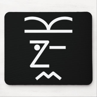 Wink Puzzle Mousepad