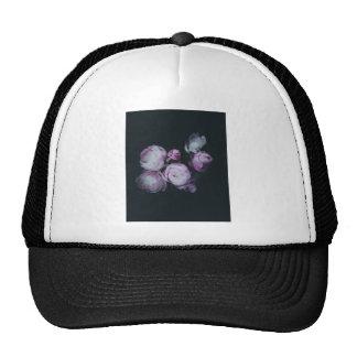 Wink Rose Buds dark background Trucker Hat