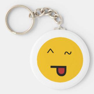 Wink STO Basic Round Button Keychain