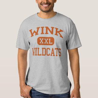 Wink - Wildcats - Wink High School - Wink Texas T Shirt