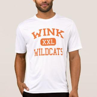 Wink - Wildcats - Wink High School - Wink Texas T-Shirt