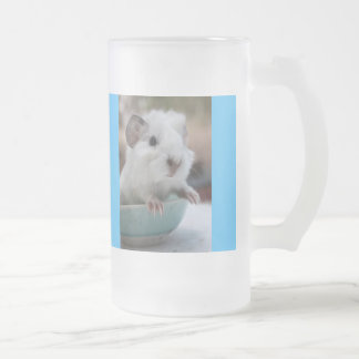 Winkie Frosted Glass Beer Mug