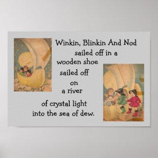 winkin, blinkin and nod poster