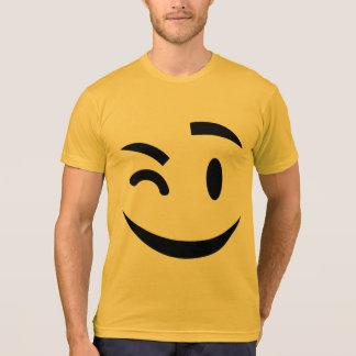winking at you emoji T-Shirt