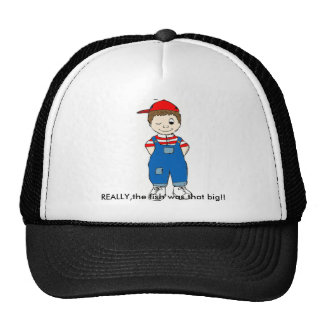 winking_boy truth trucker hat