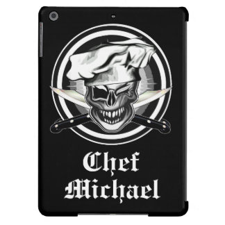 Winking Chef Skull iPad Air Cases