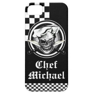 Winking Chef Skull iPhone SE/5/5s Case