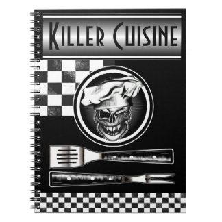 Winking Chef Skull Notebook