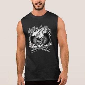 Winking Chef Skull Sleeveless Shirt