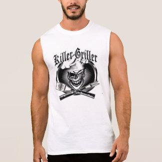 Winking Chef Skull Sleeveless T-shirts