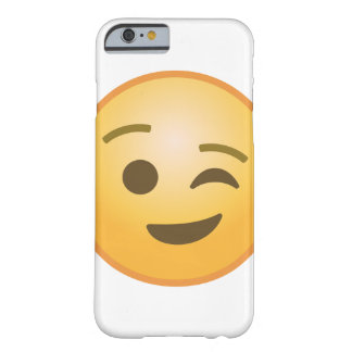 Winking Emoji Barely There iPhone 6 Case