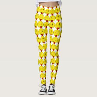 Winking Emoji Leggings
