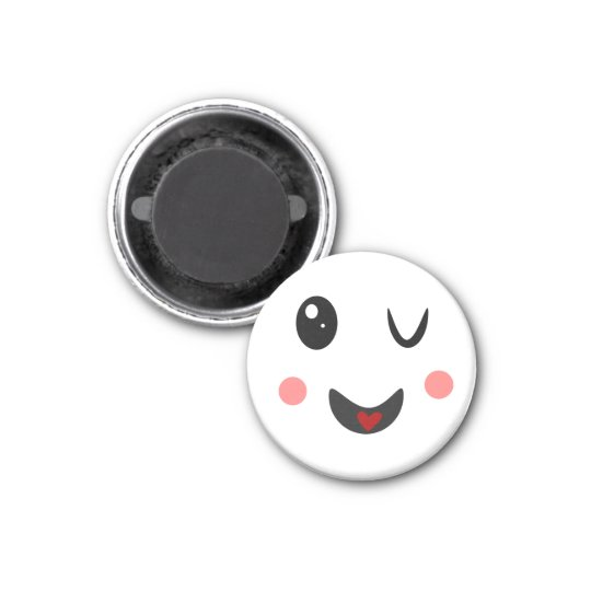 winking Face cute Magnet