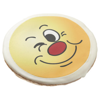 Winking Face: Sure I can cover for you at work Sugar Cookie