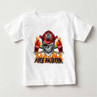 Winking Firefighter Skull Shirts