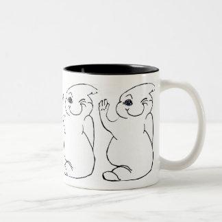 WINKING GHOST mug