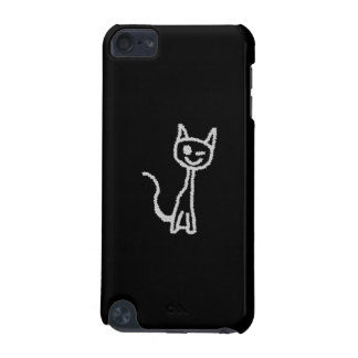 Winking Gray Cat. iPod Touch (5th Generation) Cover