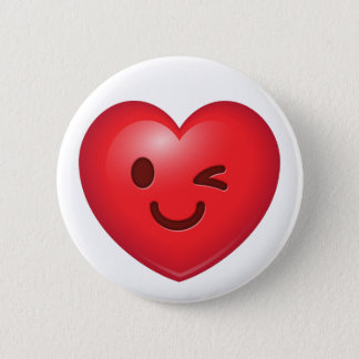 WInking Heart Emoji Button