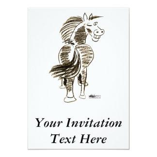 Winking Horse Good Luck! Card