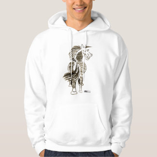 Winking Horse Good Luck! Hoodie