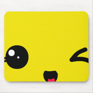 Winking Mouse Pad