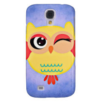 Winking Owl Galaxy S4 Cover