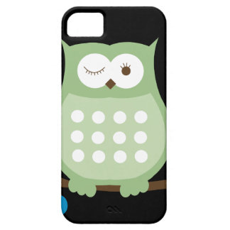 Winking Owl iPhone 5 Case (Green)