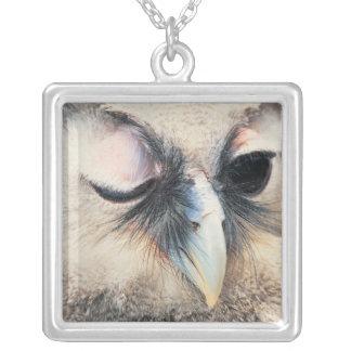 Winking Owl Necklace