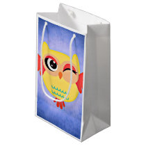 Winking Owl Small Gift Bag
