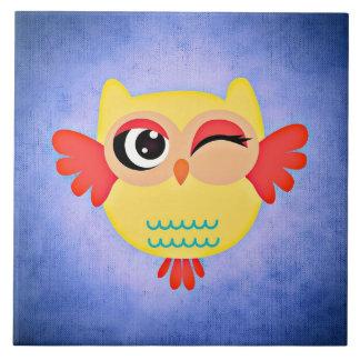 Winking Owl Tile