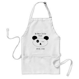 Winking panda Apron