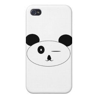 Winking Panda Iphone Case iPhone 4 Cover