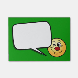 Winking Post-it® Notes