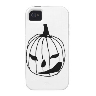 Winking Pumpkin Vibe iPhone 4 Case