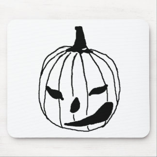 Winking Pumpkin Mouse Pad