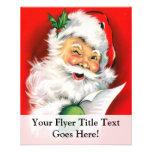 "Winking Santa 4.5"" X 5.6"" Flyer"