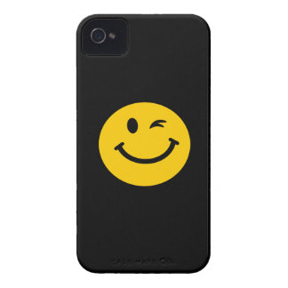 Winking smiley face Case-Mate iPhone 4 case