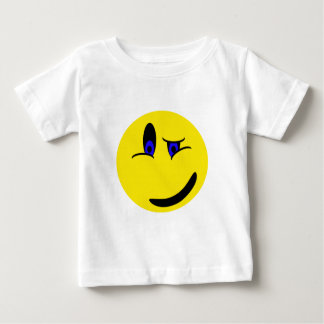 Winking Smiley Face Infant T-shirt