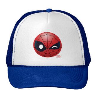 Winking Spider-Man Emoji Trucker Hat