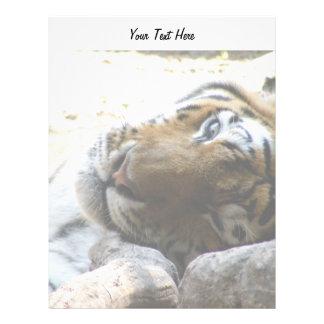 Winking Tiger Letterhead