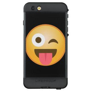 Winking Tongue Emoji LifeProof NÜÜD iPhone 6s Plus Case