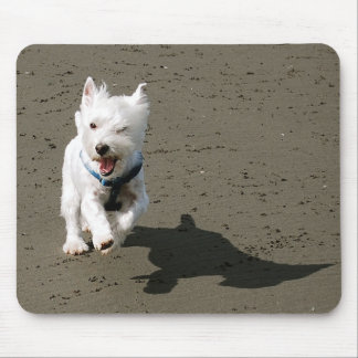 Winking Westie Mouse Pad