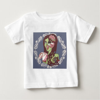 Winking Zombie Girl Tees
