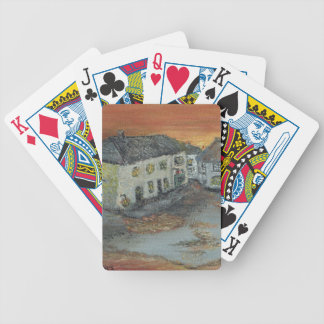 Winkleigh Sunset Bicycle Playing Cards
